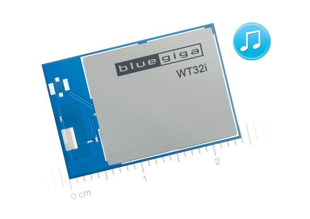 Bluegiga WT32i Bluetooth Audio Module - Silicon Labs