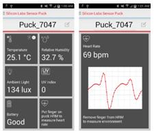 Environmental and Biometric Sensor Puck Starter Kit
