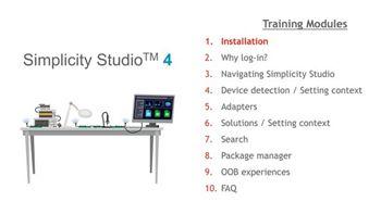 Simplicity Studio - Silicon Labs